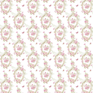 Cameo Pink and Beige Wallpaper