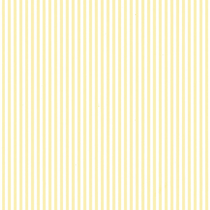 Yellow 6mm Stripe Wallpaper
