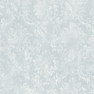Canvas Damask Aqua Wallpaper