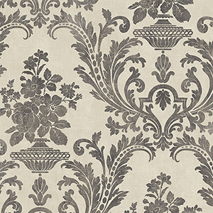 Sari Beige and Black Texture Wallpaper