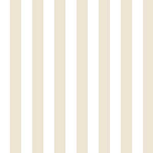 Regency Stripe Taupe and White Wallpaper