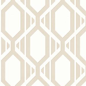 Gatsby Beige Wallpaper