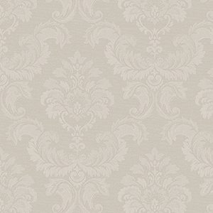 Damask Emboss Taupe Wallpaper
