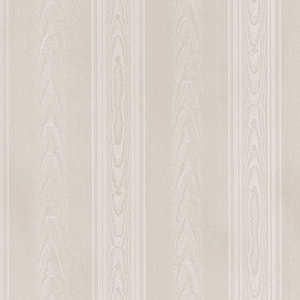 Medium Moiré Stripe Taupe Wallpaper