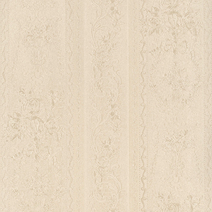 In Register Stripe Cream Wallpaper