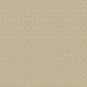 Metallic Gold Small Damask Wallpaper