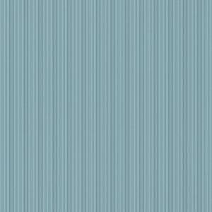Vertical Stripe Emboss Teal Wallpaper