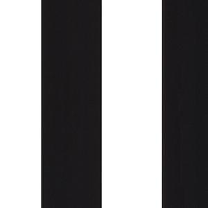 Black and White 5.25 In. Stripe Wallpaper