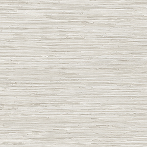 Grasscloth Grey Wallpaper