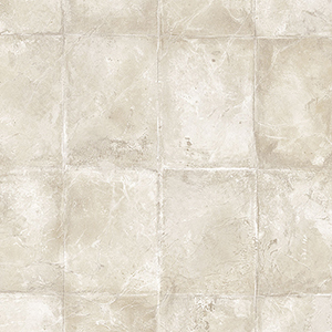 Mike Tile Cream and Taupe Wallpaper