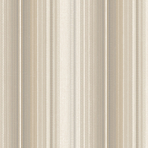 Organic Stripe Taupe, Beige and Brown Wallpaper