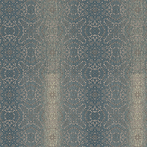 Tribal Teal, Cream and Brown Texture Wallpaper