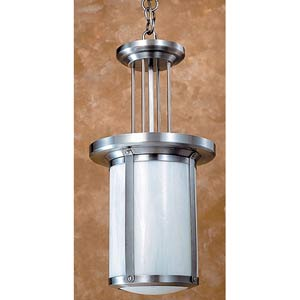 Berkeley White Opalescent Lantern Pendant