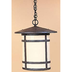Berkeley Small Cream Long Outdoor Pendant