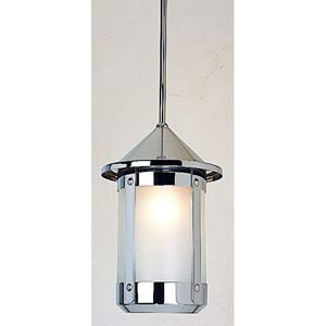Berkeley Large Frosted Stem Hung Mini Pendant