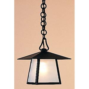 Carmel Large Frosted Outdoor Pendant