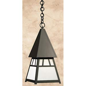 Dartmouth Large White Opalescent Outdoor Pendant