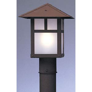 Evergreen Extra Large Frosted T-Bar Outdoor Post Mount