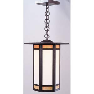 Etoile Medium Bronze Lantern Pendant