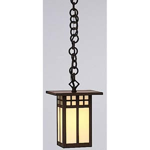Glasgow Small Cream Long Outdoor Pendant