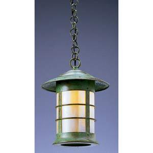 Newport Medium Gold White Iridescent Outdoor Pendant