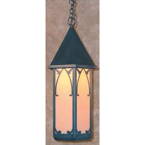 Saint George Large Tan Lantern Pendant