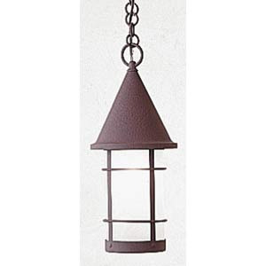 Valencia Small Frosted Outdoor Pendant