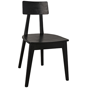 Kimi Charcoal Black Chair