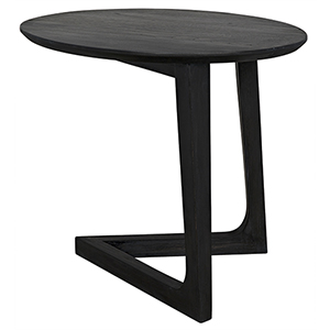 Cantilever Charcoal Black Table