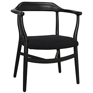 Rey Charcoal Black Chair