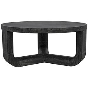 Bent Black Coffee Table