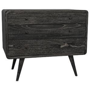Bart Cinder Black 36-Inch Dresser