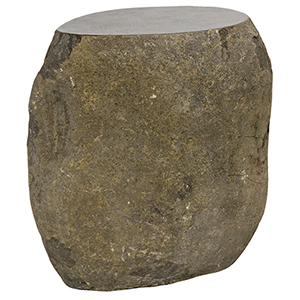 Boulder Riverstone 17-Inch Stool