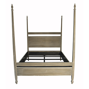 Venice Weathered 65-Inch Queen Bed