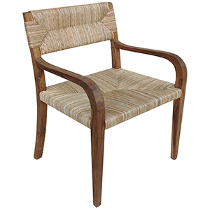 Bowie Teak Arm Chair