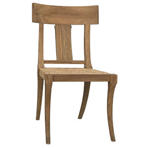 Athena Natural Armless Chair