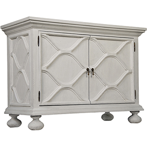 Comles White Weathered Sideboard