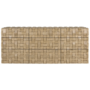 Weave Bleached Walnut 73-Inch Sideboard