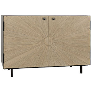 Ray Bleached Walnut 46-Inch Sideboard