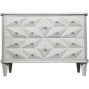 Giza White Weathered Dresser