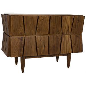 Doric Teak 44-Inch Dresser