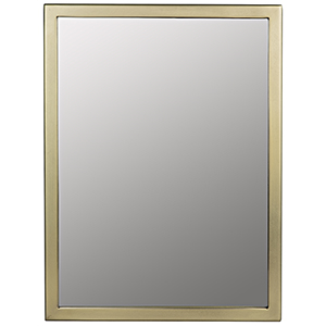 Logan Antique Brass Small Mirror
