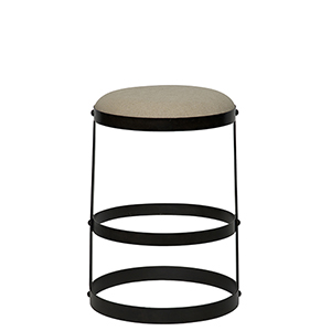 Dior Metal Counter Stool