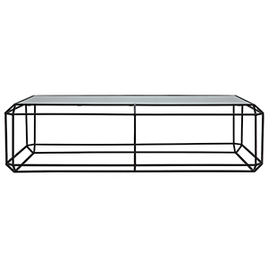 Ostro Metal 68-Inch Coffee Table