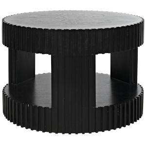 Grinder Black Coffee Table