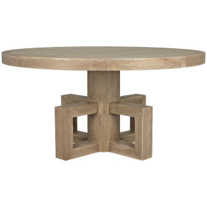 Lima Washed Walnut 60-Inch Dining Table