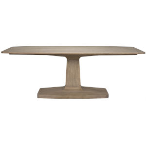 Travis Washed Walnut 84-Inch Dining Table