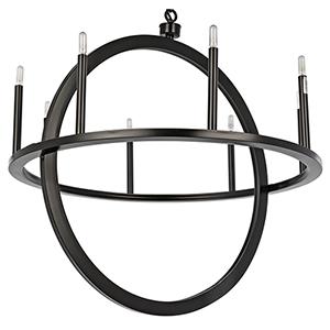 Montel Metal Eight-Light Pendant