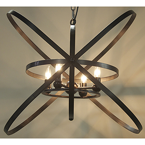 Sassari Metal Four-Light Pendant