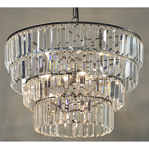 Crystal Four-Light Small Chandelier